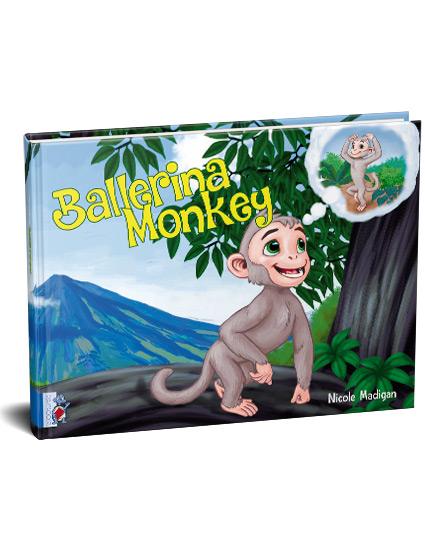 Ballerina Monkey by Nicole Madigan
