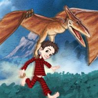 Darcy mit dem Pterodactyl - Darcy and the Dinosaurs