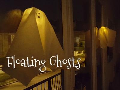 DIY Halloween Floating Ghost