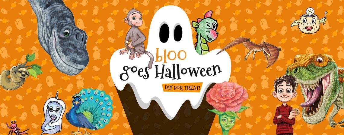 blOO goes Halloween - DIY Halloween decorations ideas