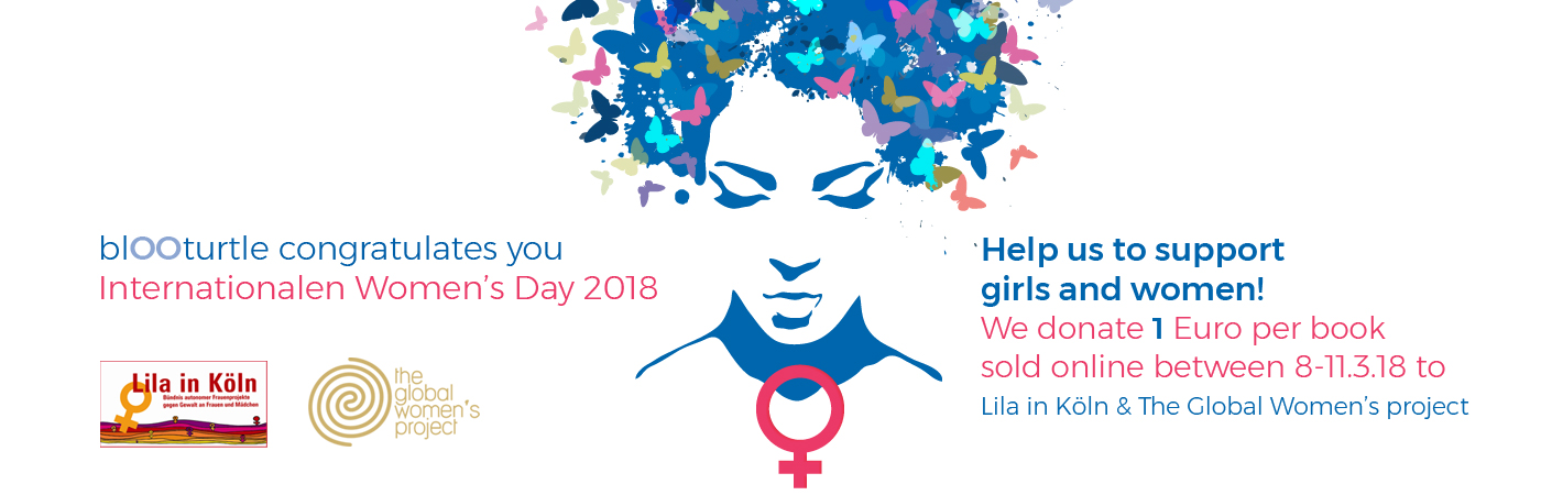 blOOturtle donates for women projects on International Women's Day