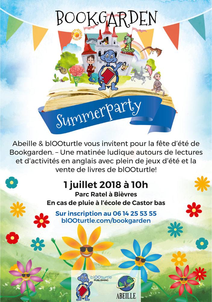 Bookgarden Summerparty
