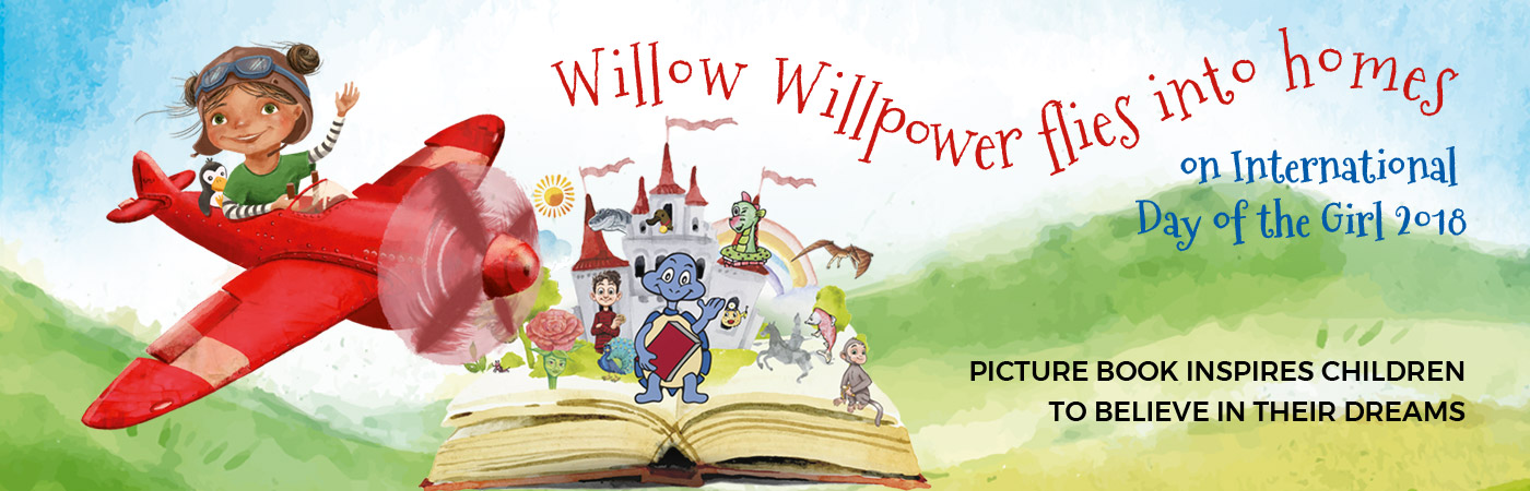 Willow Willpower - the children book by Sarah Cannata