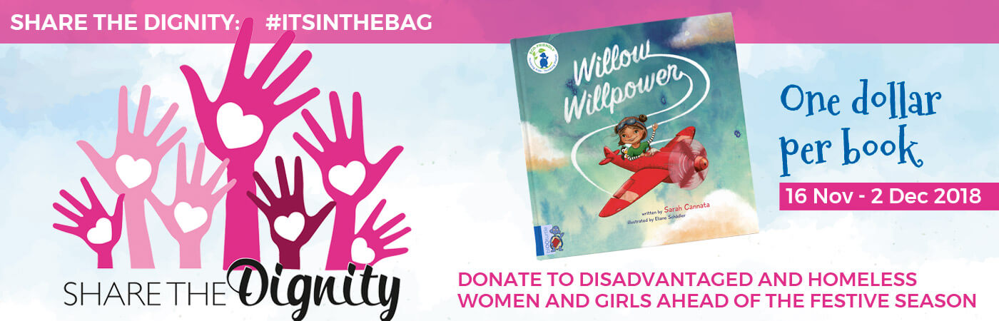With blOOturtle and Willow Willpower donating for Share the Dignity
