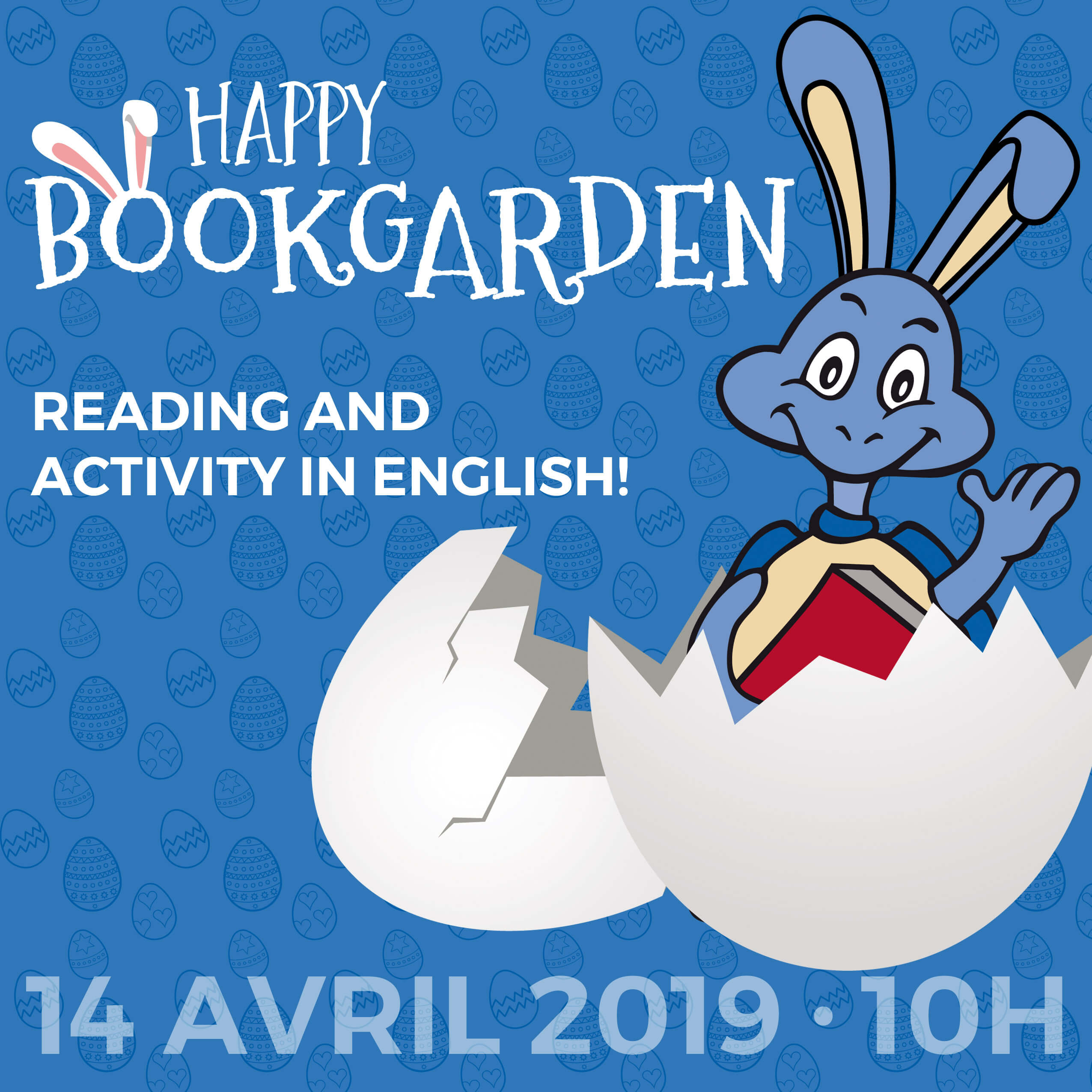Bookgarden Happy Easter